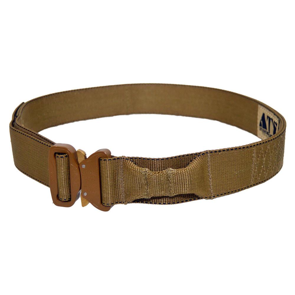 Large Tan Tactical Military Assault Gear Cobra Buckle Riggers Belt