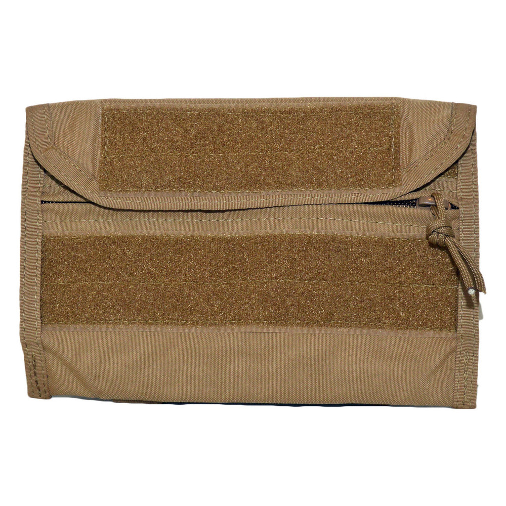 ATS Tactical Gear Combat Leader Admin Pouch in Coyote Brown