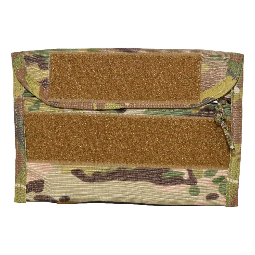 ATS Tactical Gear Combat Leader Admin Pouch in  in Multicam