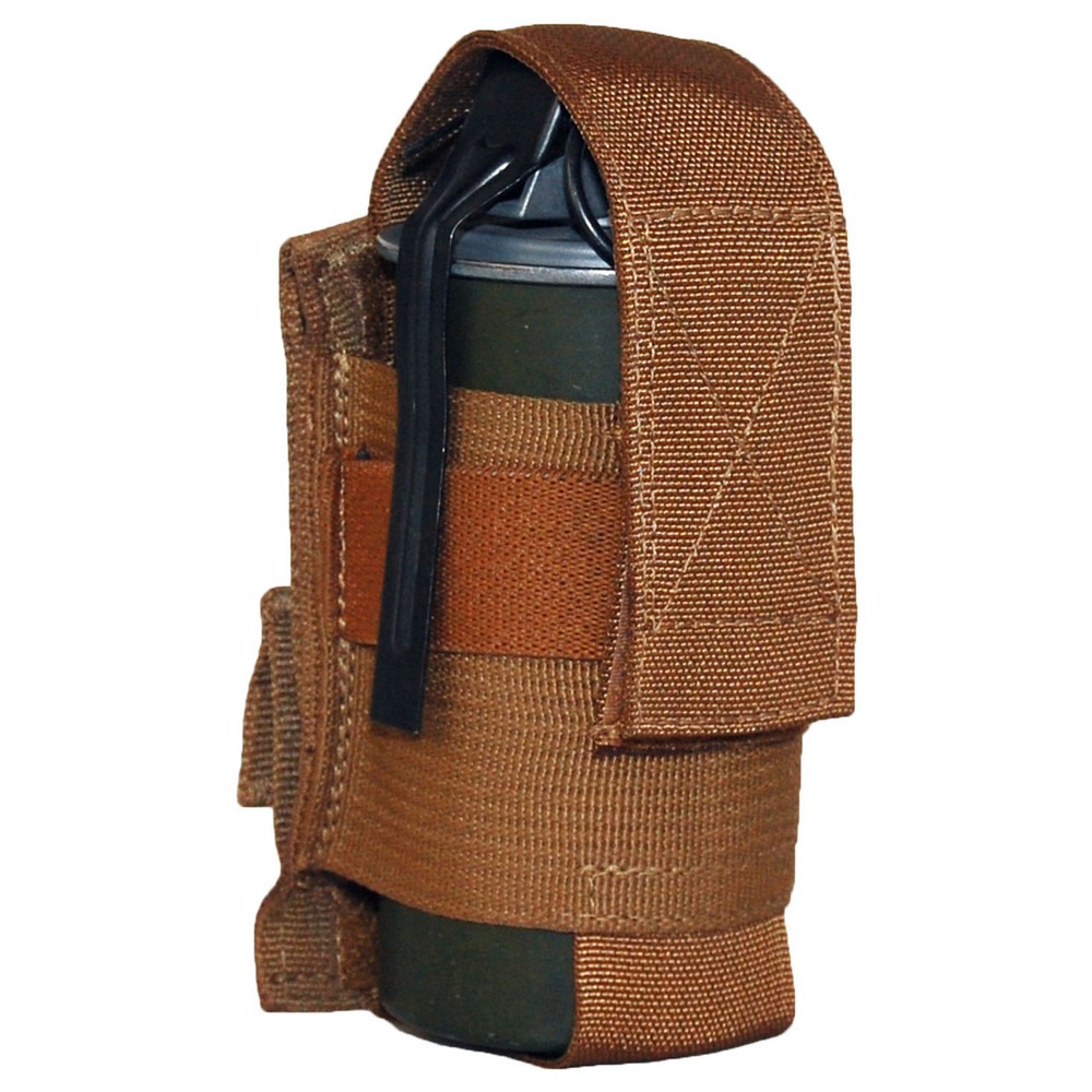 ATS Tactical Gear Large Flashbang Pouch in Coyote Brown