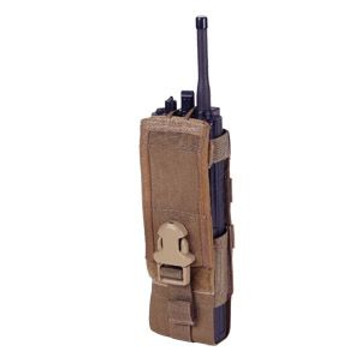 ATS Tactical Gear MBITR Radio Pouch in Coyote Brown