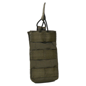 ATS Tactical Gear Tall-Single M4 Magazine Pouch in Ranger Green