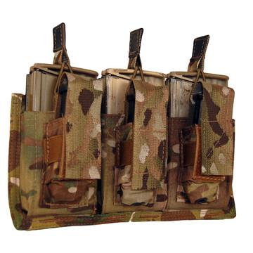 ATS Tactical Gear Triple 7.62/Glock Shingle in Multicam