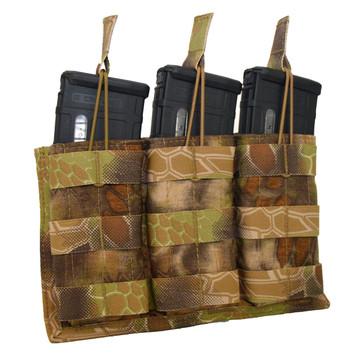ATS Tactical Gear Triple M4 Mag Shingle in Highlander