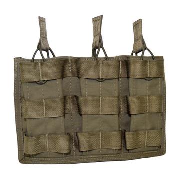 ATS Tactical Gear Triple M4 Mag Shingle in Ranger Green