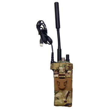 ATS Tactical Gear PRC-154 Rifleman's Radio Pouch in Multicam