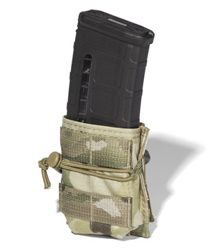 ATS Tactical Gear Short-Single M4 Magazine Pouch in Multicam