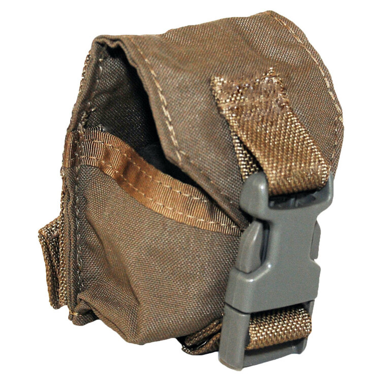 ATS Tactical Gear Single Frag Grenade Pouch in Ranger Green