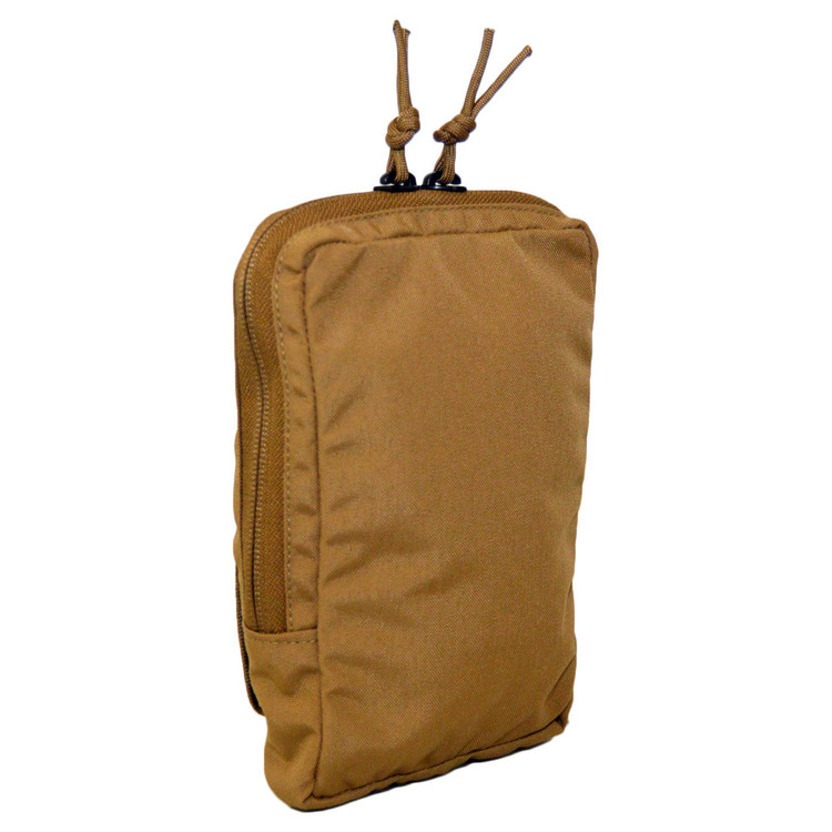 ATS Tactical Gear Slimline 5x8 Utility Pouch in Coyote Brown
