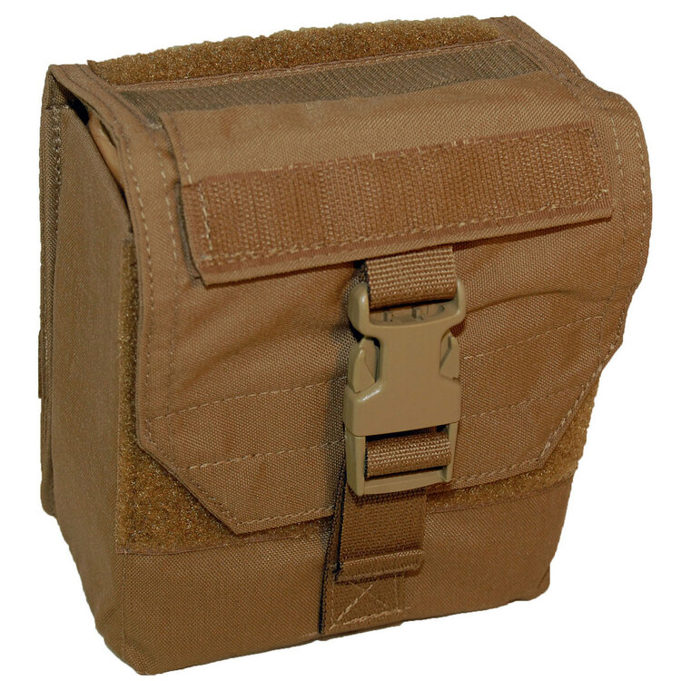 ATS Tactical Gear 100rd 7.62/240 Pouch in Coyote Brown