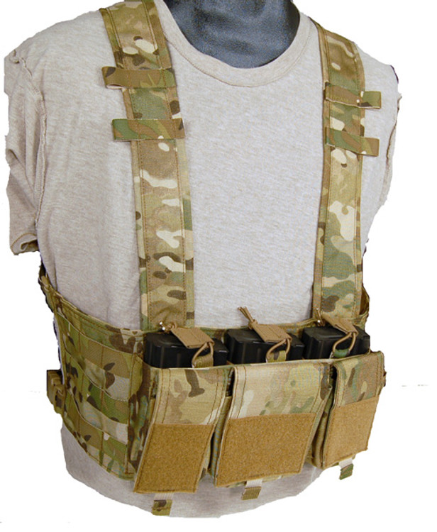 Mayflower 7.62 Hybrid Chest Rig in Multicam