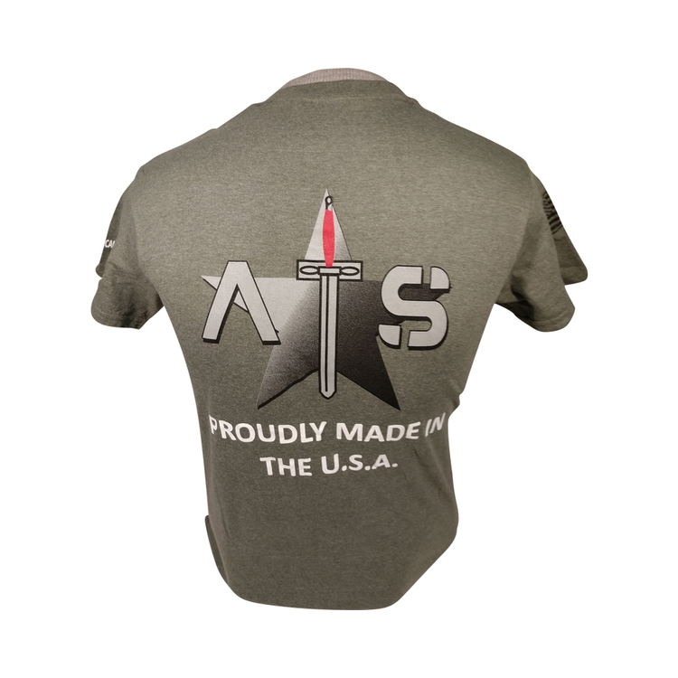 ATS-Proudly Made in the USA T-shirt Green
