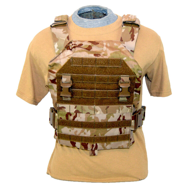 ATS Tactical Gear Aegis Plate Carrier V1 with Multicam Arid Front