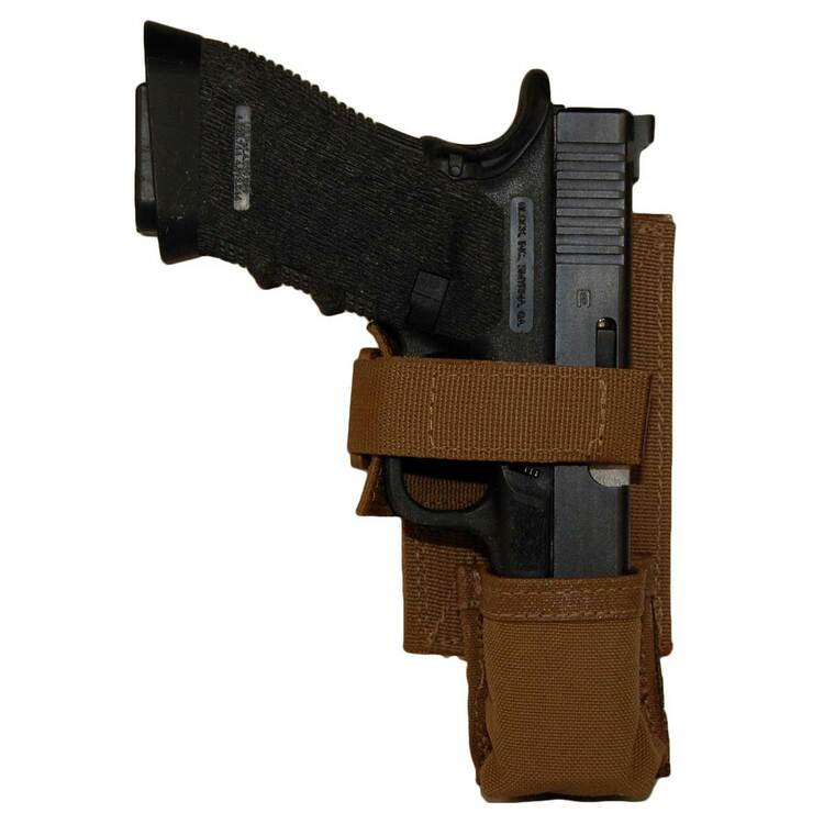 ATS Tactical Gear CAP Universal Pistol Holster in Coyote Brown