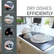 Larsic Dish Drying Mat for Kitchen Countertop