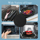 Induction Cooktop Mats 2 Pack 12.5 with 8.5