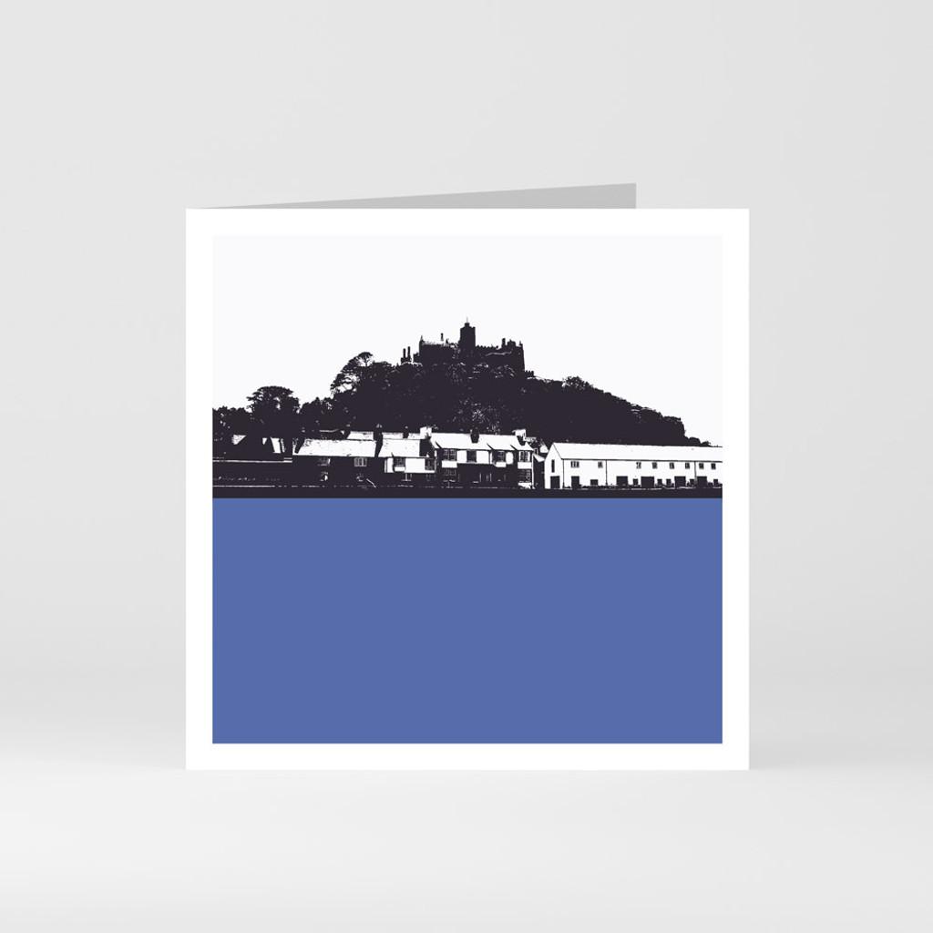 Jacky Al-Samarraie Cornwall Greeting Card of St Michaels Mount