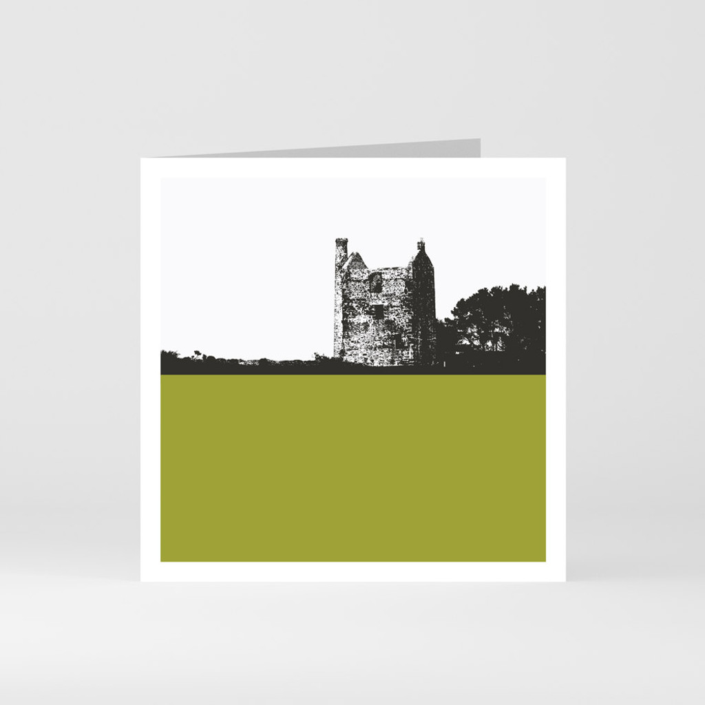 Jacky Al-Samarraie Cornwall Greeting Card of Tin and Copper Mine Wheal Phoenix in Bodmin