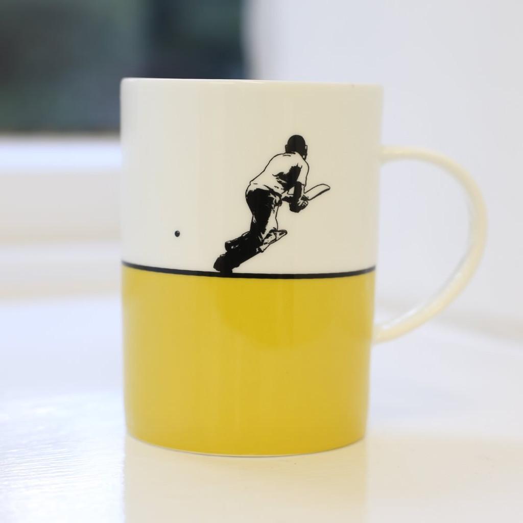 Jacky Al-Samarraie Cricket Bone China Mug