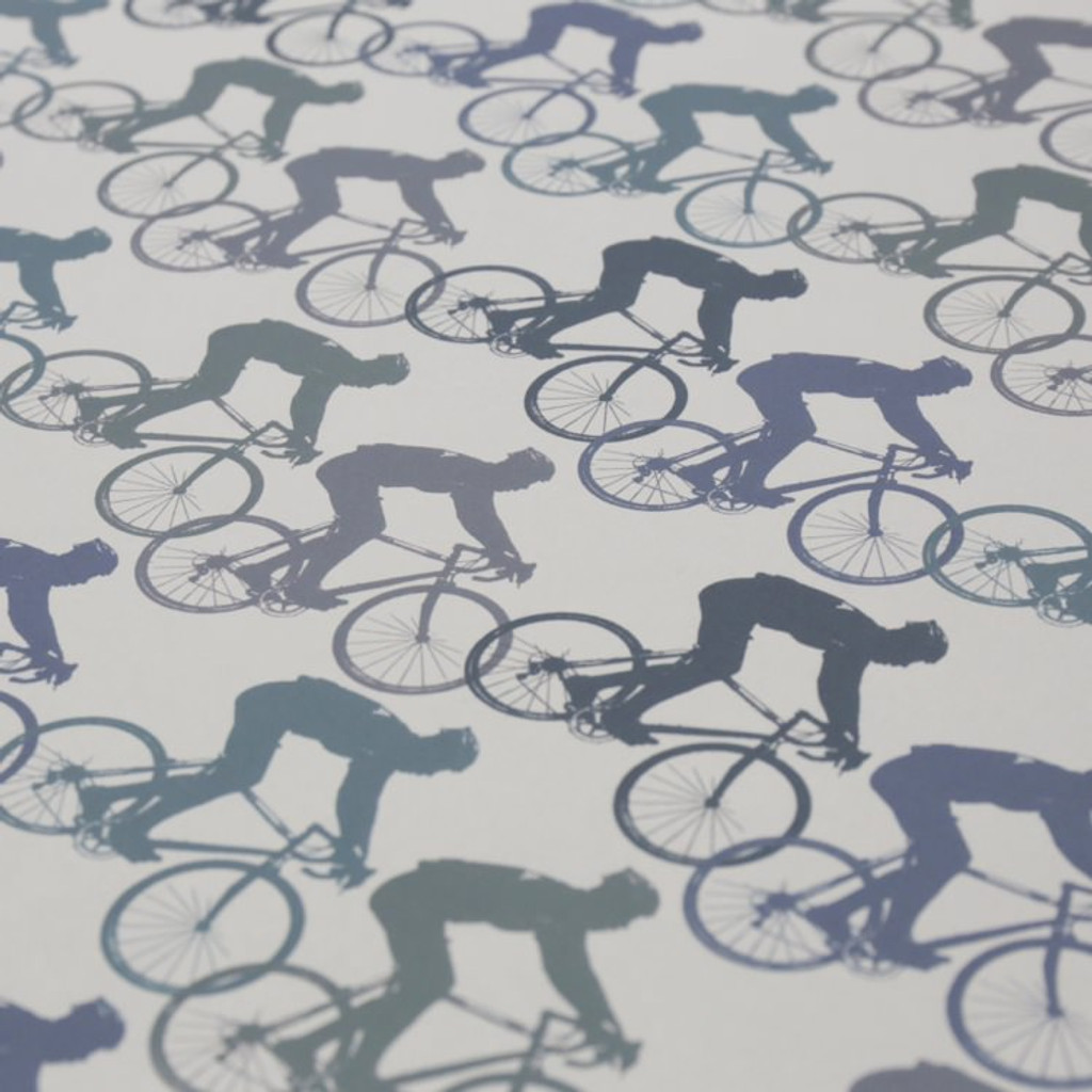 Jacky Al-Samarraie Cycling - Blue Gift Wrap Pack