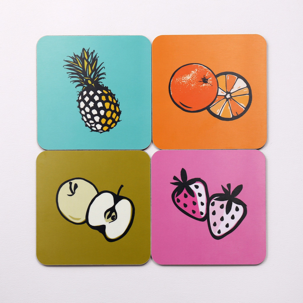 Jacky Al-Samarraie Fruit Coaster Set of Eight