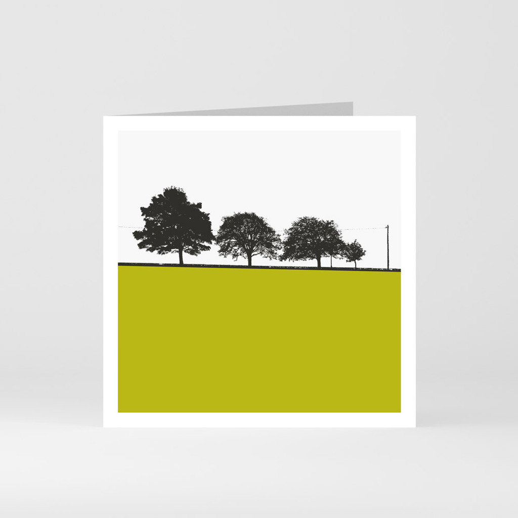 Jacky Al-Samarraie Loughrea - County Galway Greeting Card