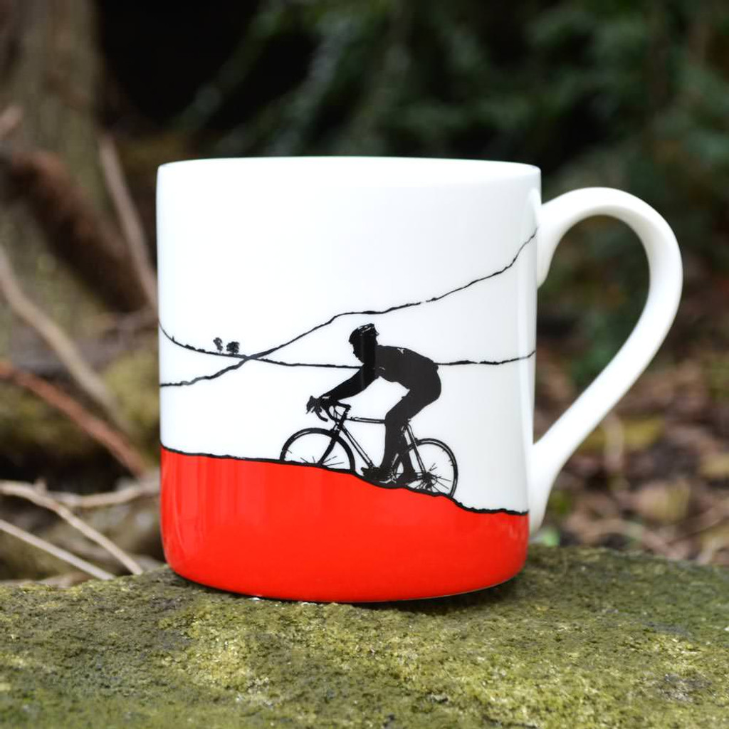Jacky Al-Samarraie The Race Red Polka Dot Jersey Mug - Slight Second