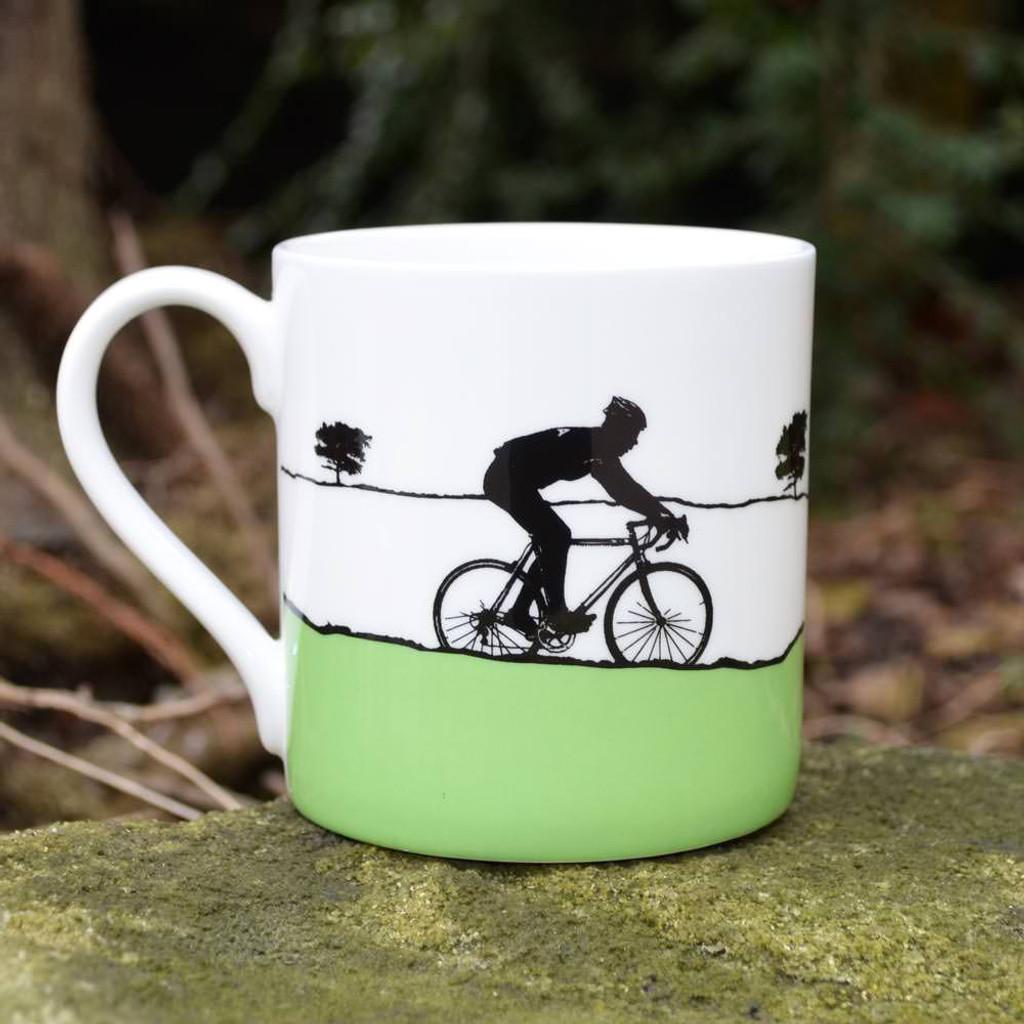 Jacky Al-Samarraie The Race Green Jersey Mug - Slight Second