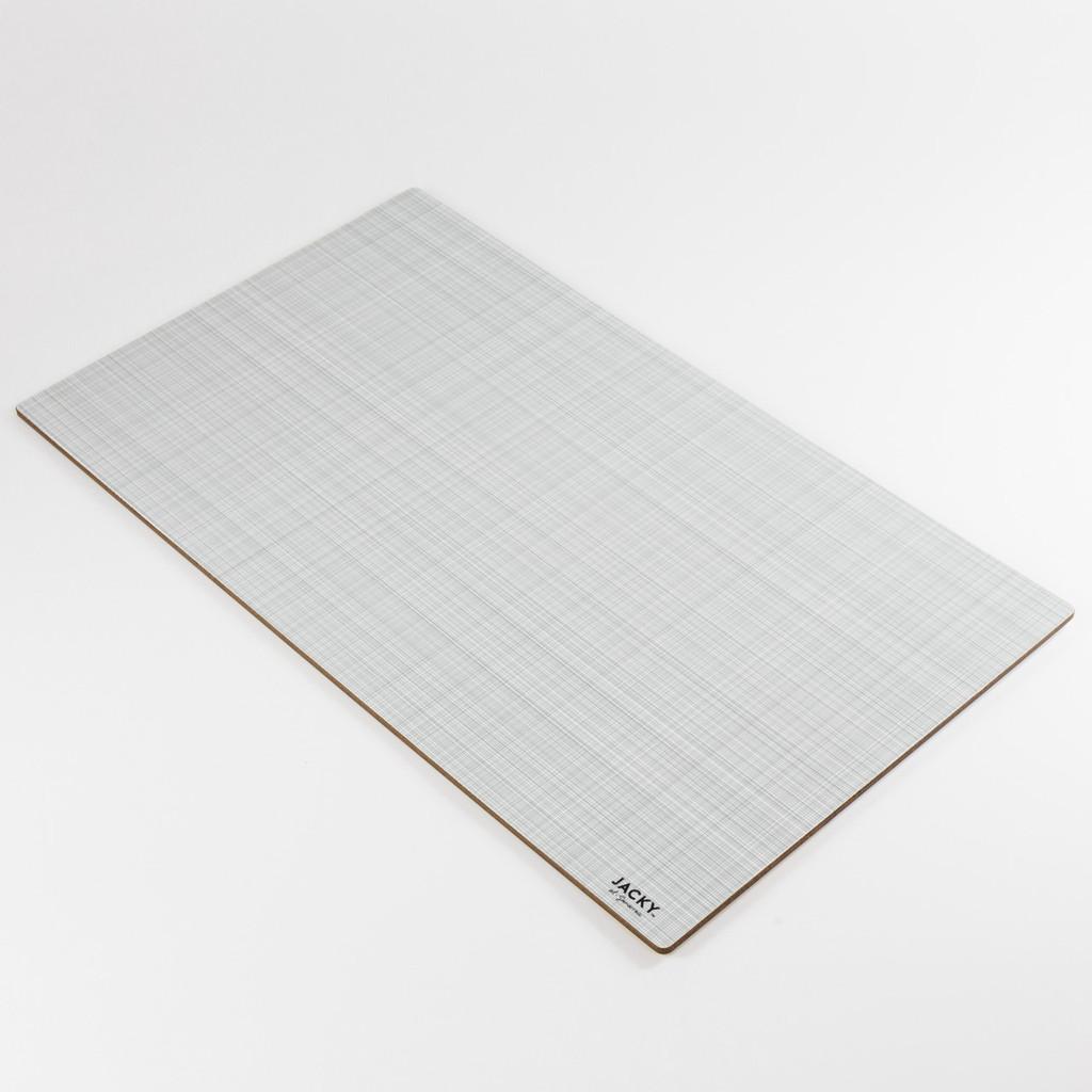 Back of large landscape melamine chopping board pattern by designer Jacky Al-Samarraie