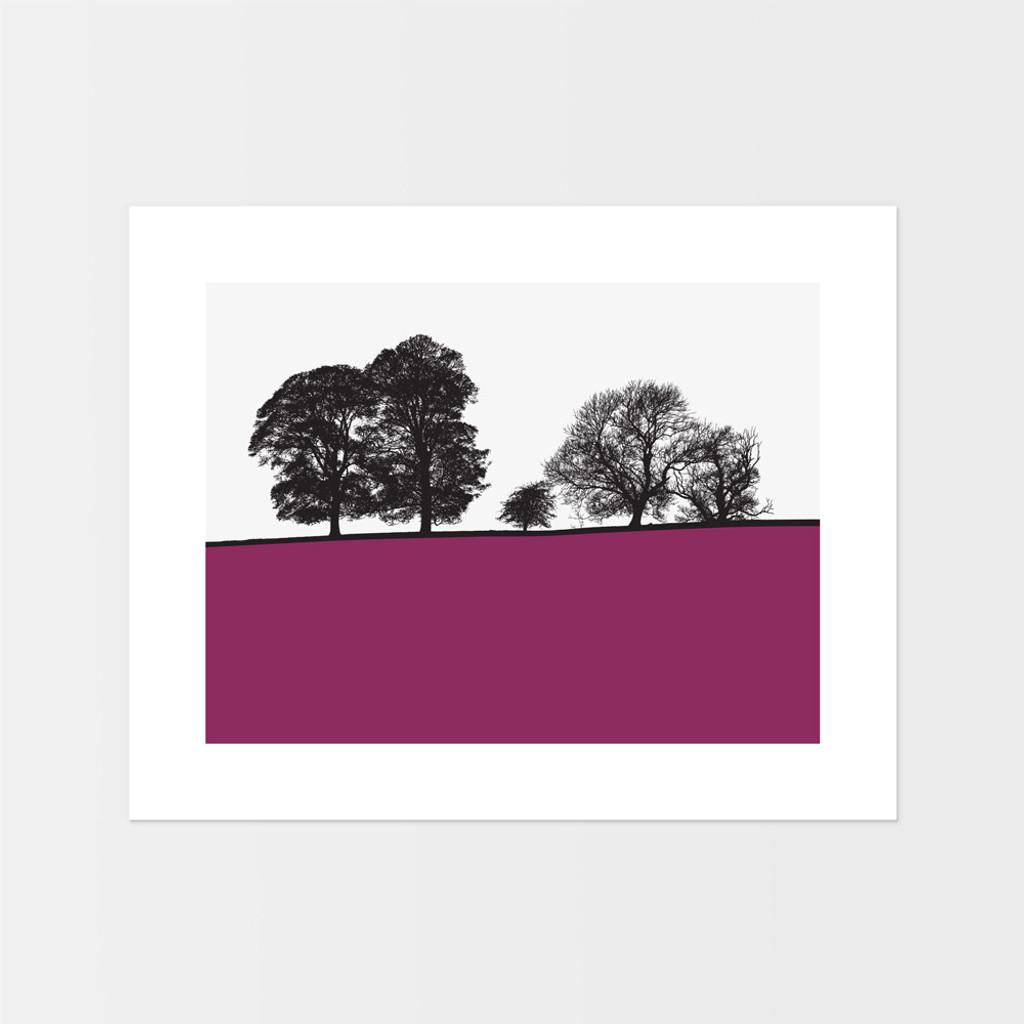 Landscape print of Windermere in the Lake District by designer Jacky Al-Samarraie.