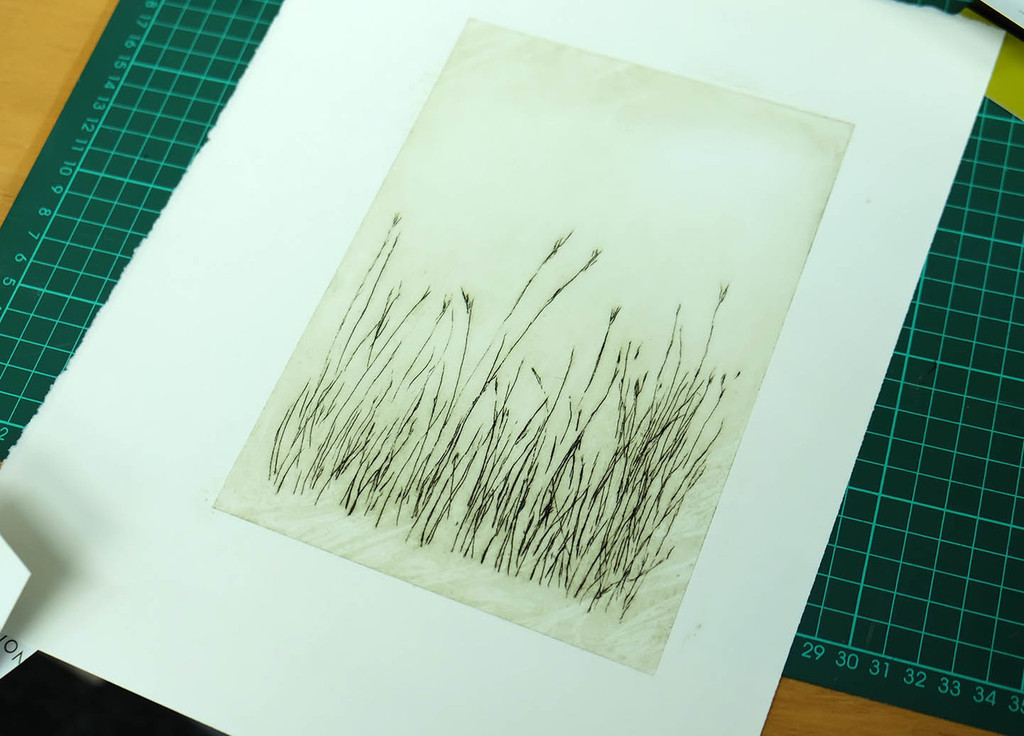 Drypoint - First layer proof