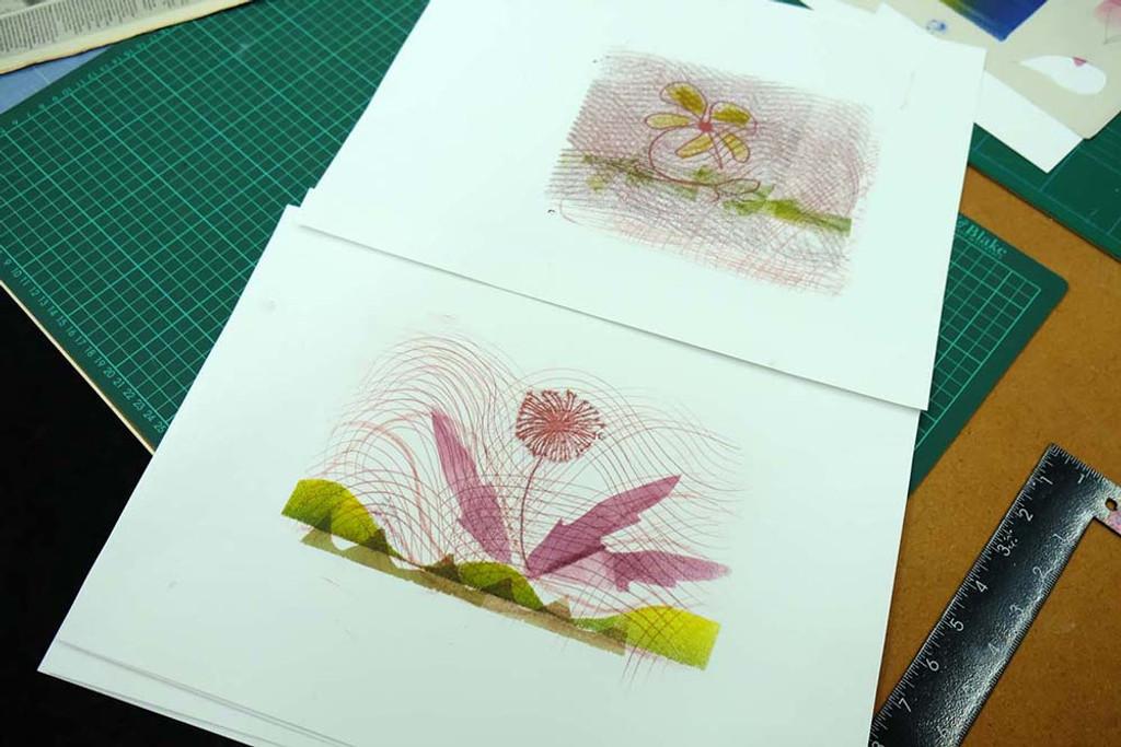Flower monotypes