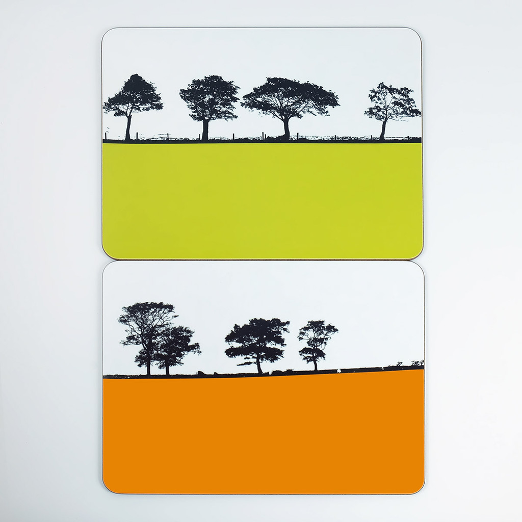 Placemats - Harrogate and Ilkley by Jacky Al-Samarraie