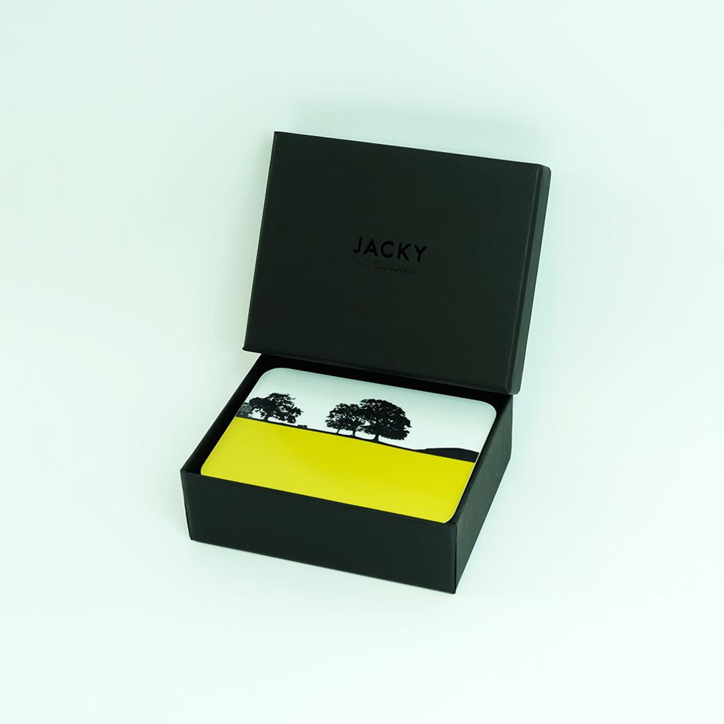 Rural Ireland Landscape Coaster Set with Luxury Black Gift Box- Jacky Al-Samarraie