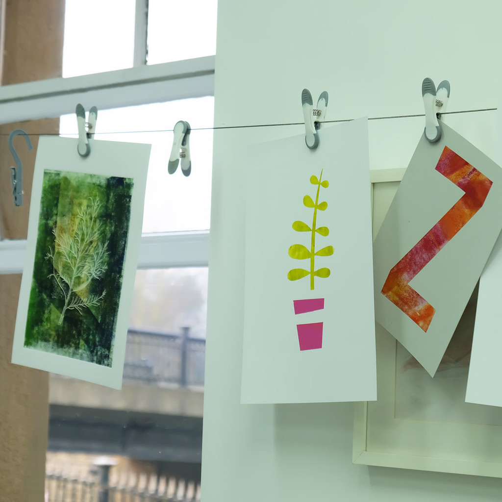 Stencil Printing - The Art Rooms Print Workshop