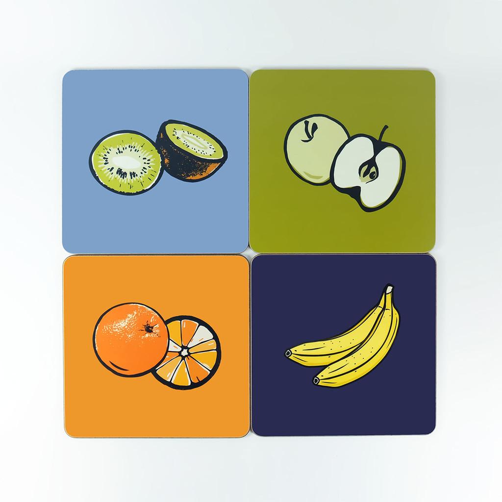 Fruit design table mat set by Jacky Al-Samarraie - The Art Rooms