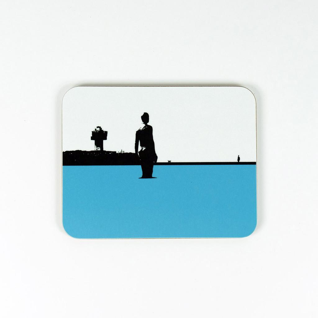 Crosby beach coaster