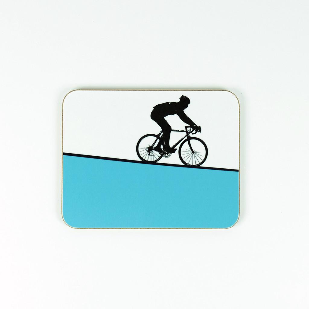 Melamine cycling coaster