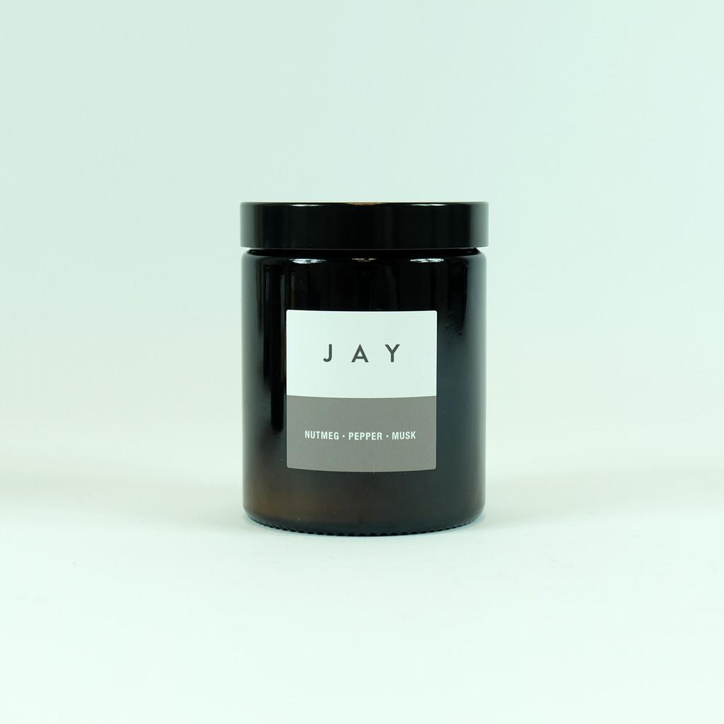 Pharmacy Jar vegetable base candle by Jacky Al-Samarraie