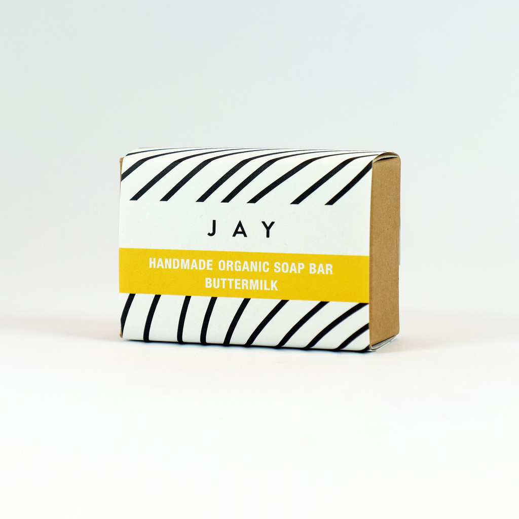 Buttermilk Organic Soap Bar - Jacky Al-Samarraie