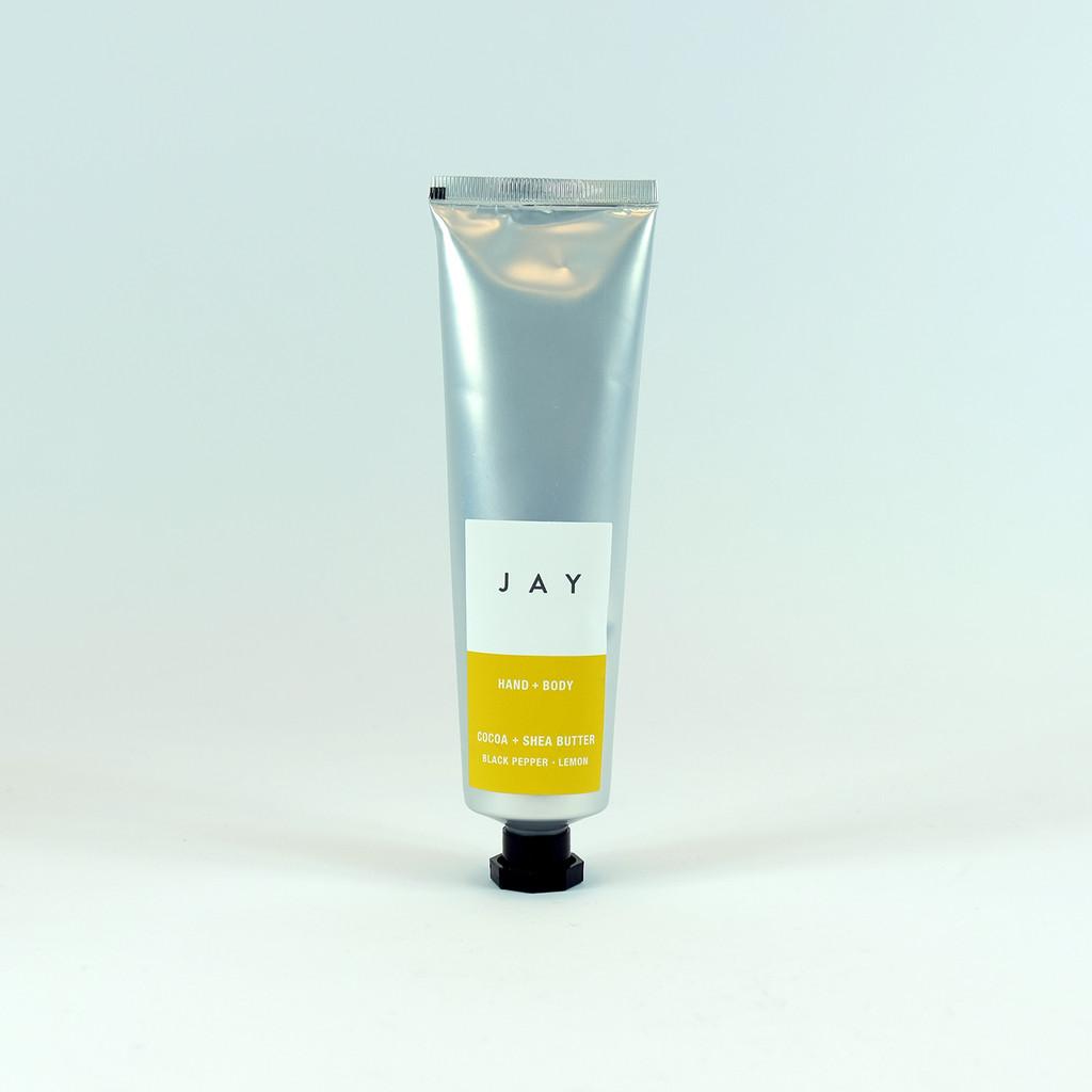 Shea butter tube, hand & body lotion by Jacky Al-Samarraie