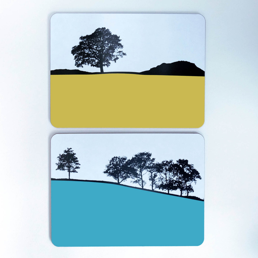 Landscape tablemats from The Art Rooms