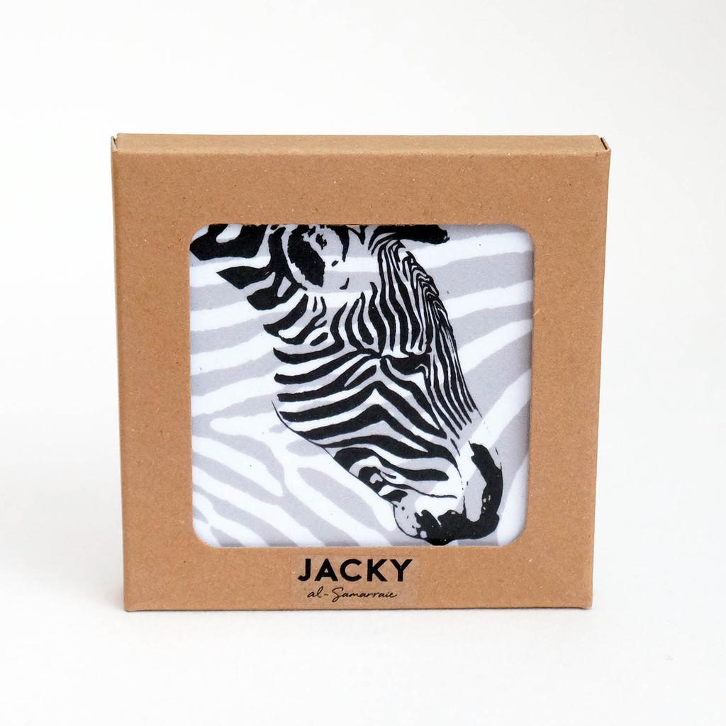 Wild animal coaster sets by Jacky Al-Samarraie