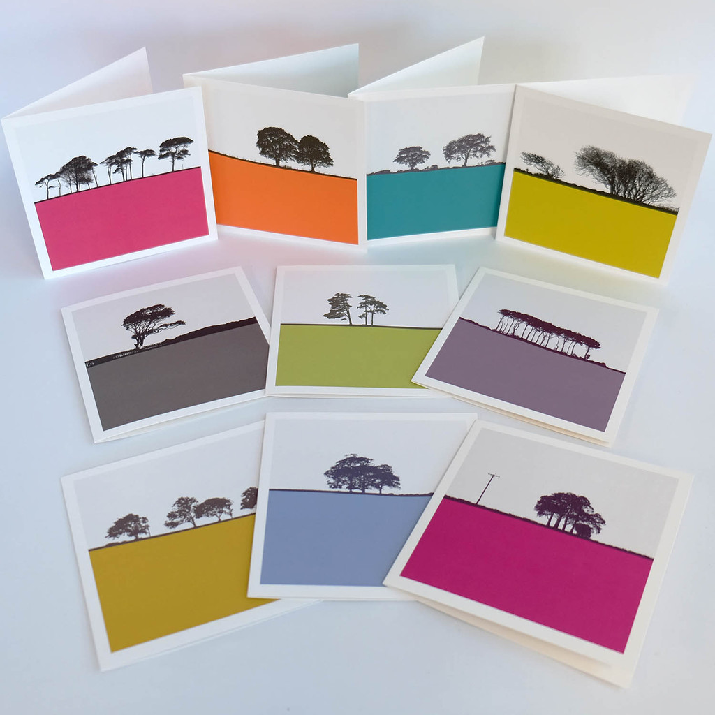 Box Set of Landscape Greeting Cards by Jacky Al-Samarraie