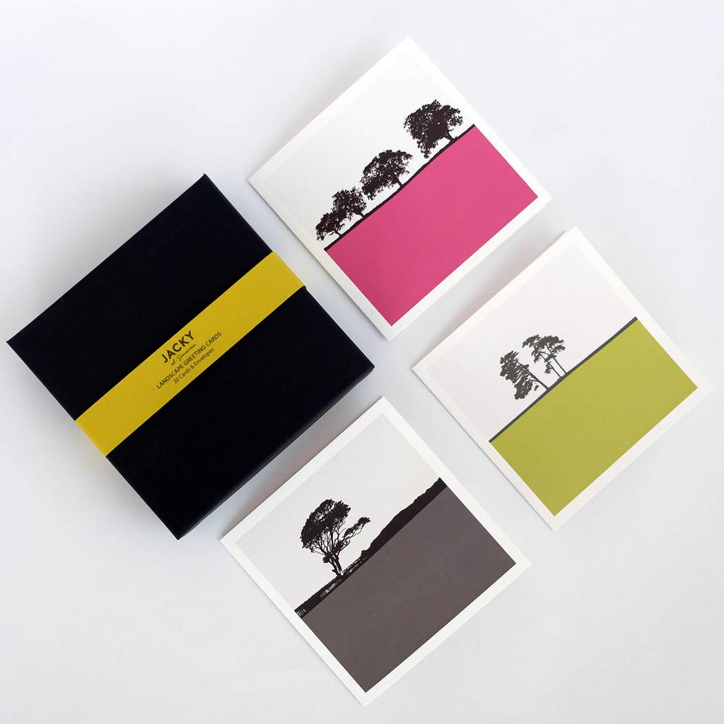 Landscape Greeting Card Box Set by Jacky Al-Samarraie