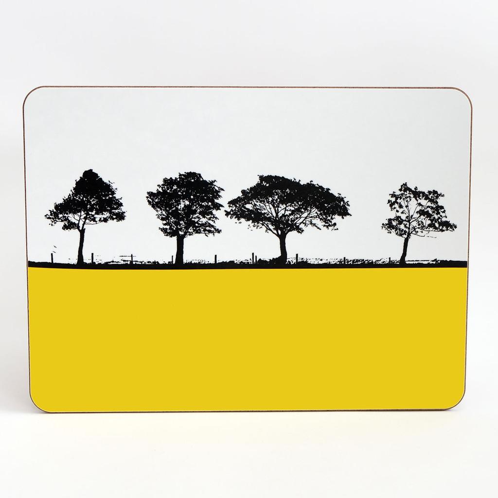Jacky Al-Samarraie Melamine Table Mat Harrogate Landscape