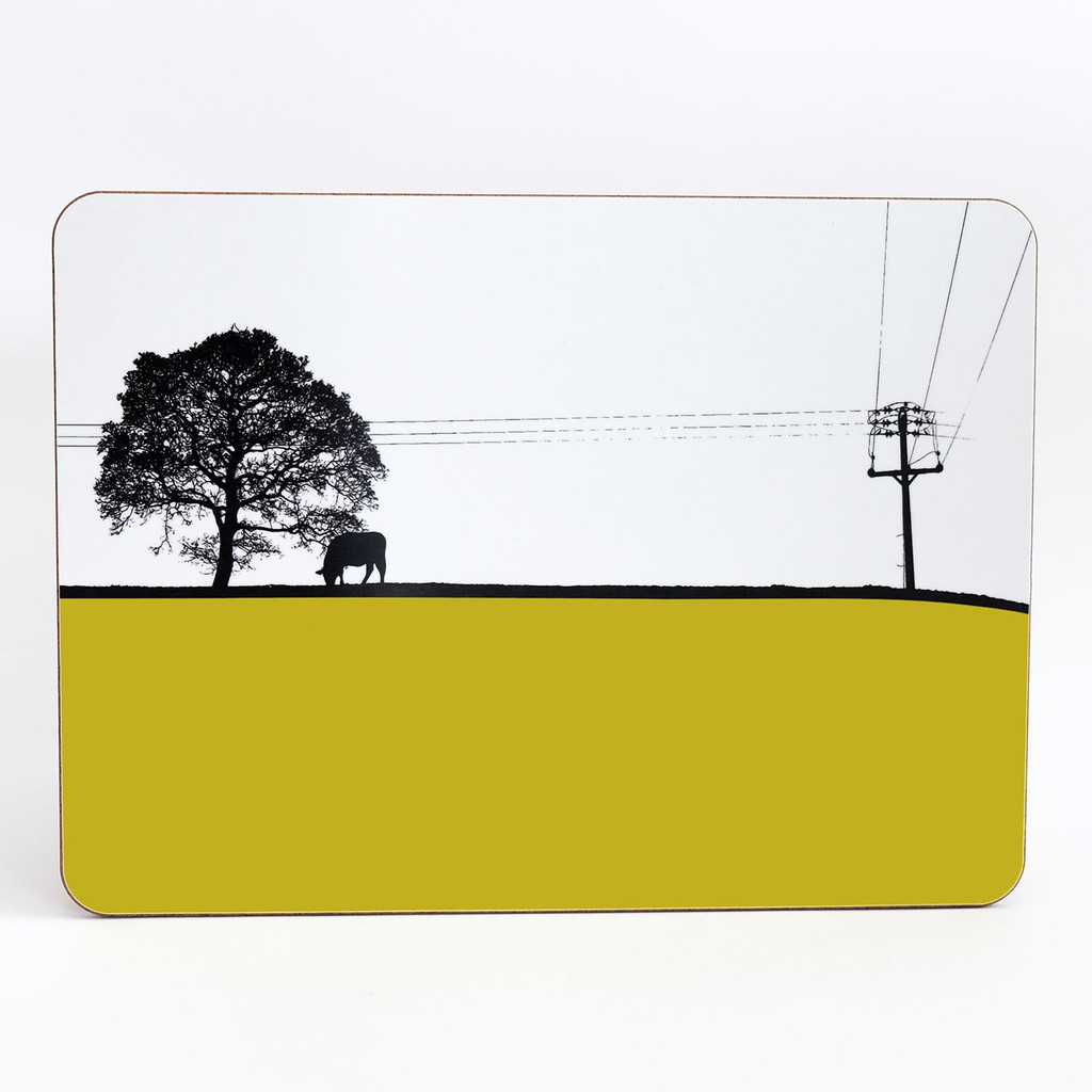 Jacky Al-Samarraie Melamine Table Mat Yeadon Leeds Landscape