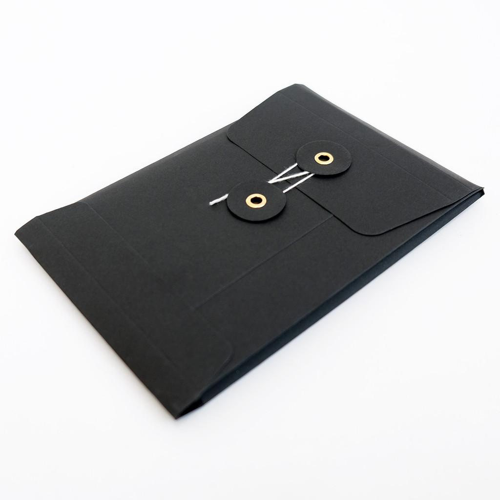 Jacky Al-Samarraie Black Postcard Wallet