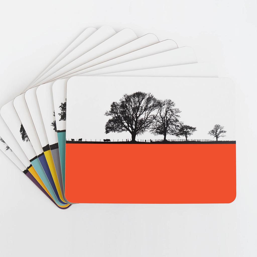 Jacky Al-Samarraie Lake District Table Mat Set of 8 Designs