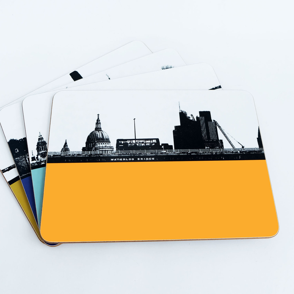 Jacky Al-Samarraie London Table mat Offer Pack 3